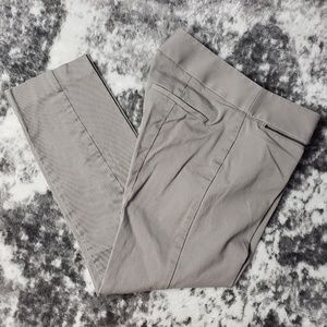 LOFT Ann Taylor Marisa Cropped Zipper Pockets